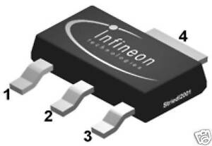 BSP129-240V-SIPMOS-Small-Signal-Transistor-Lot-of-2