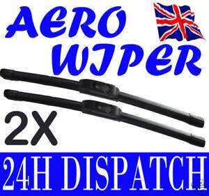 AERO-FLAT-WINDSCREEN-WIPER-BLADES-NISSAN-MICRA-93-02
