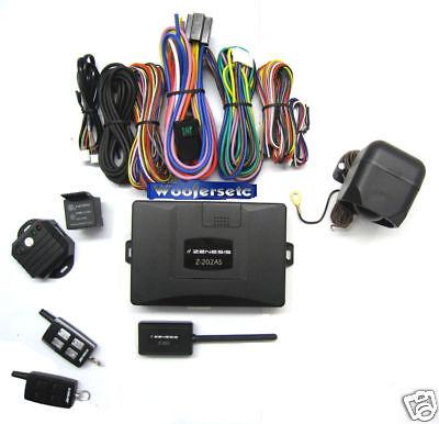 Z-202as Zenesis 2 Way Fm Security Car Alarm +remote Engine Starter Combo on sale