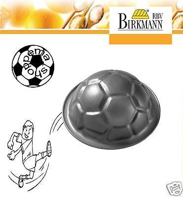 Backform Motivbackform Kuchenform Fußball 8,5 cm Feinblech Antihaftbeschichtet
