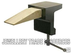 Jewellers Clamp On Bench Peg Block Anvil Jewellery Making