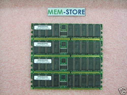 8gb Dell Poweredge 3250 4600 6600 6650 7250 (311-1553)