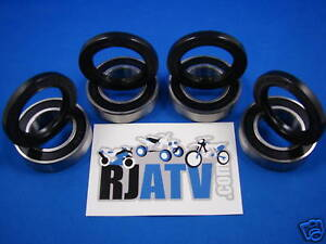 Suzuki LT-F500F Vinson 2002-2007 Front Wheel Bearings & Seals Kit
