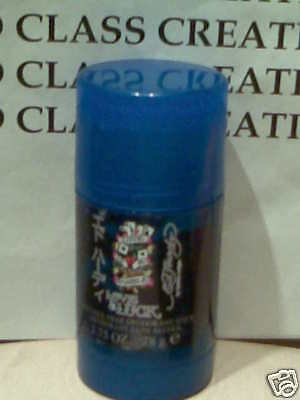 2 X Ed Hardy Love & Luck For Men - Deodorant Stick Alcohol Free 2.7 Oz Each