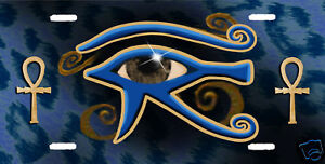 ALL-SEEING-EYE-OF-RA-UJAT-AUTO-LICENSE-PLATE-BLUE-COLOR