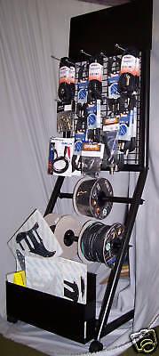 Stand espositore QUIKLOK con Ruote per Cavi Jack e accessori Strumenti Musicali