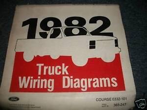 1982 FORD BRONCO OEM WIRING DIAGRAMS MANUAL SET | eBay