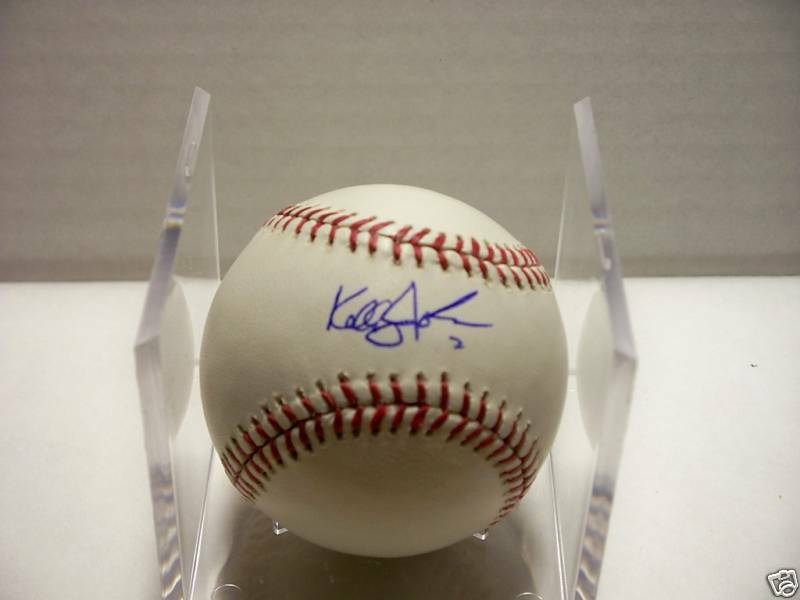 Kelly Johnson Braves Autographed MLB Baseball