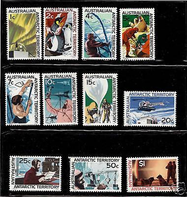 Australian Antarctic Terr.-1966-68-SC L8-L18-NH-Cmp Set