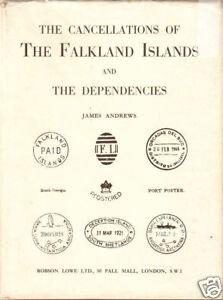Cancellations of Falkland Islands & Deps, J Andrews
