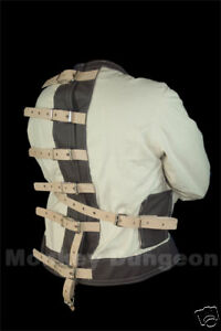 straight-jacket-straitjacket-strait-straightjacket-No-front-strap-for-magicians