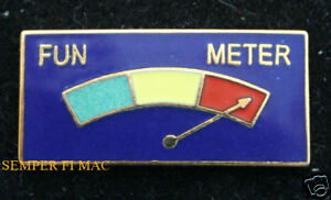 FUN-METER-PIN-PATCH-US-MARINES-NAVY-ARMY-AIR-FORCE-USCG