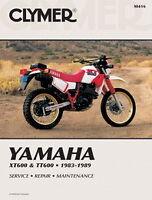 Yamaha Xt600 Tt600 Xt 600 1983-1989 Clymer Manuale M416 Nuovo - yamaha - ebay.it