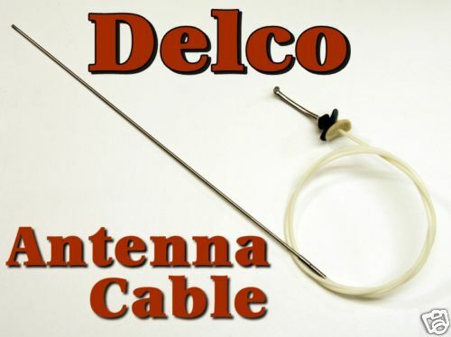 Cadillac Fleetwood Power Antenna Mast Cable Delco