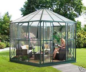 pavillon aluminium glas