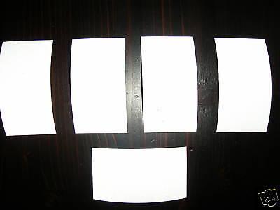 Reflexfolie Reflektorstreifen Reflexstreifen Selbstklebend Reflektor Silber