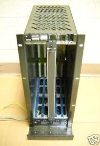 Bosch-5-Slot-CNC-PLC-Rack-Card-rack-CC220-TG-071774-101-24-VOLT-12-AMP-USED