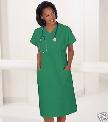 One  Scrub  Dress Green Medium