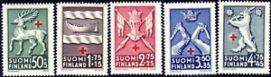 World-War-1942-Provincial-Coat-Of-Arms-Finland-MNH