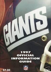 1997-NEW-YORK-GIANTS-NFL-FOOTBALL-MEDIA-GUIDE