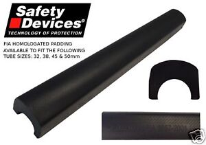 Safety Devices FIA Roll Cage Padding- 32, 38, 45 & 50mm