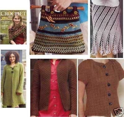 Interweave Crochet Magazine Fall 2008 Sweaters Bag Coat