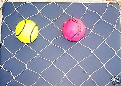 10' X 10' X 50' Batting Cage Netting 2 Nylon 15-160 Lb