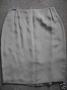 Ellen-Tracy-Silk-Straight-Skirt-Stone-Beige-Taupe-10