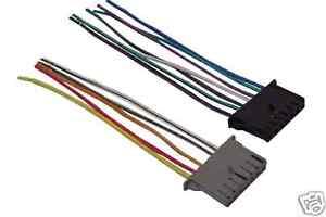 chrysler dodge factory radio wiring harness 1985 2001 ebay