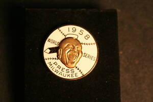 Reproduction-of-1958-Braves-World-Series-Press-Pin