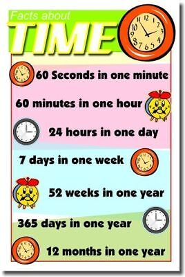 Facts About Time -  New Elementary ...