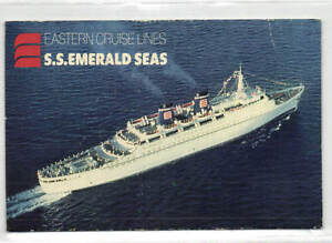 Eastern Cruise Lines STEAMER SS Emerald Seas EBay - Can you take a steamer on a cruise ship