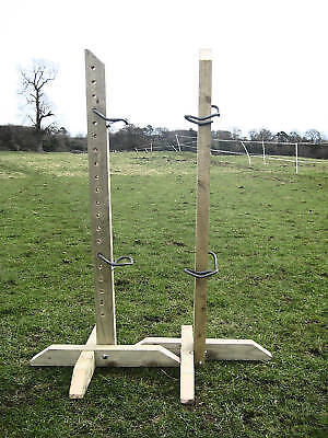4ft Show Jump Training Wings with 2 pairs of Jump Cups