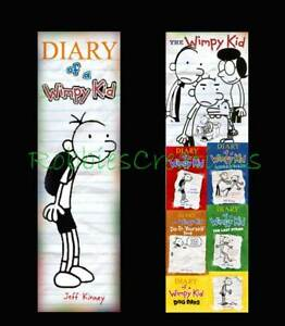 DIARY-of-a-WIMPY-KID-BOOKMARK-Dog-Days-FUN-book-mark-like-a-mini-poster