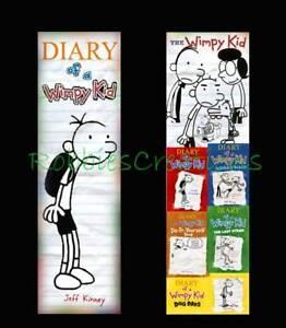 DIARY-of-a-WIMPY-KID-BOOKMARK-Dog-Days-book-mark-tiny-reading-kids-mini-poster