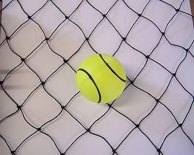 25' X 10' Batting Cage Netting -2 Black Nylon 15