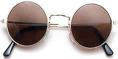 HIPPIE HIPPY 60S 70S OZZY JOHN LENNON ROUND SPECS FANCY DRESS GLASSES SUNGLASSES