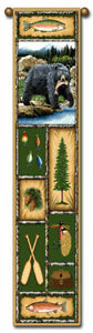 40-BEAR-LODGE-Nature-Bell-Pull-Tapestry-Wall-Hanging