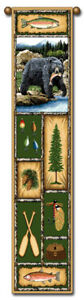 40-034-BEAR-LODGE-Nature-Bell-Pull-Tapestry-Wall-Hanging