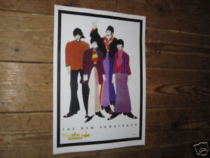 The-Beatles-Yellow-Submarine-Soundtrack-Repro-POSTER