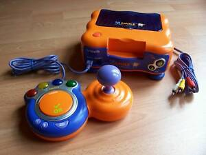 V-Tech Vtech V.SMILE VSmile Konsole Orange + Joystick