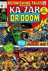 ASTONISHING-TALES-3-Fine-Barry-Smith-Wally-Wood-art-Marvel-Comics-1970