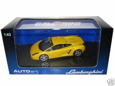Lamborghini Gallardo Met Yellow 1/43 Diecast Model Car By Autoart 54561