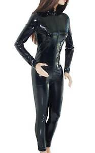 glossy 4 way stretch pvc catsuit zentai latex s to 3xl eu approx m 5xl us ebay. Black Bedroom Furniture Sets. Home Design Ideas