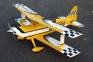 Giant-1-4-Scale-ULTIMATE-BIPE-Plans-Patterns-75-in-wing-span-PLEASE-READ