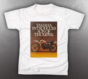 vintage yamaha 1976 xt500 thumper shirt like nos