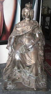 Jean-Jaquet-French-1878-Of-Marie-Therese-Bronze-Statue-RARE