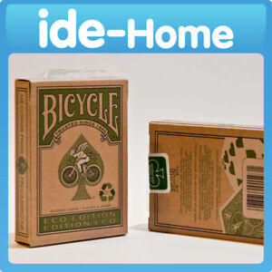 1x Bicycle Eco Poker Deck Playing Card Recycle NEW!