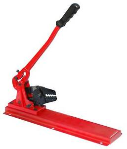 Bench Type Hand Swager Swaging Tool For Wire Rope Cable 5