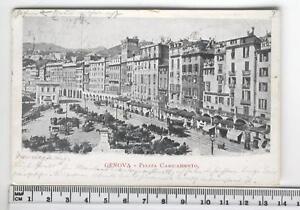 cartolina Liguria-Genova P.zza Caricamento- GE CC1306 - Italia - Accetto la restituzione entro 10 giorni a consegna avvenuta - Italia